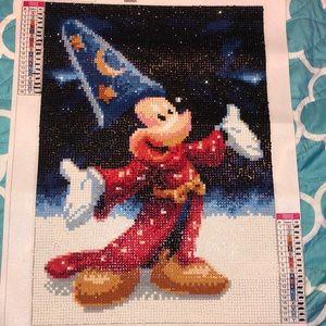 Diamond Art: Mickey Mouse!!!